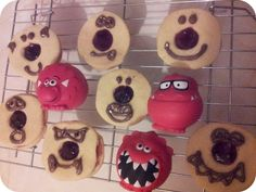 The Mini Mes and Me : Red nosed biscuits #comic #relief #baking #cooking #rednoseday