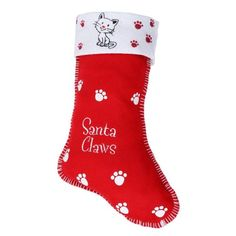 Christmas Pet Stocking -- Include the pets in the festive fun! #stocking #dog #cat #christmas #festive #xmas