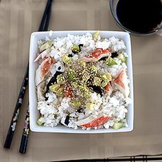 California roll sushi salad - so easy!