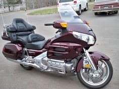 Honda Goldwing...My first serious trip(3hrs) on the back of my husband`s Honda Goldwing. What a luxe ride!