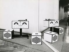 'RR126′ hi-fi stereo, 1965, for Brionvega Achille and P.G. Castiglioni