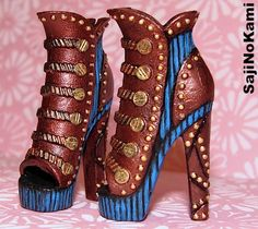 Robecca Steam Deluxe Fashion Pack Shoe repaint ——————— Past Repaints:DC Robecca Steam Shoe repaint...