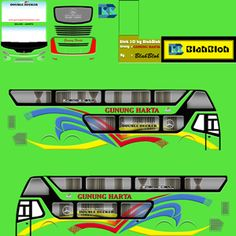 Kumpulan Livery Bimasena SDD (Double Decker) Bus Simulator Indonesia Terbaru Bus Games, New Bus, Skull Pictures, Dj, Joker, Geek Stuff, Miniatures, Luxury, Jokers