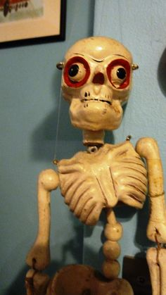 Our Awesome Skeleton Puppet