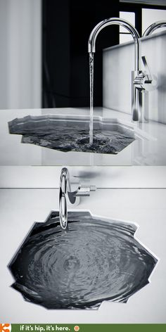 The arctic bathroom sink by koko architects