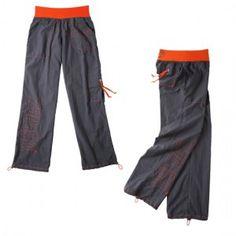 Zumba Logo Cargo Pants – Gunmetal, $80.00 | fitnessfactoryzumba.com Zumba Boutique En Ligne