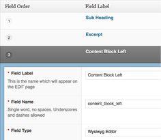 Powerful fields for WordPress developers. Custom fields.  Made easy.  Use the Advanced Custom Fields plugin to take full control of your edit screens & custom field data