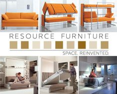 transforming couch (and other transforming furniture)-gives a whole new meaning to pull out bed