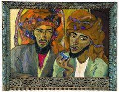 Irma Stern, 'Two Arabs'