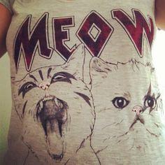 Cat shirt Crazy Cat Lady, Crazy Cats, Cat Shirts, Cat Stuff, Kittens, Clothing, Closet, Life, Outfits