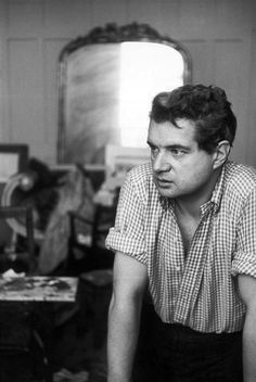 Francis Bacon by Henry Cartier-Bresson