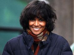 Halle Berry on set of her new film Cloud Atlas being filmed in Glasgow on September 16, 2011 in Glasgow, Scotland. (Photo by Jeff J Mitchell/Getty Images)