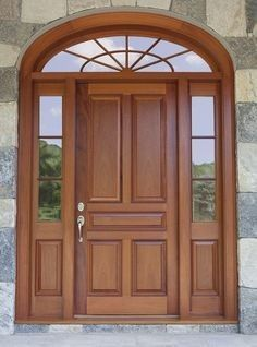 Wooden Doors: Just one of our many custom exterior doors - you i. Doors, Wooden Doors, Exterior Doors, Windows And Doors, Wooden Door Price, Custom Interior Doors, Front Door Design, Wooden Door Design, Wood Doors Interior