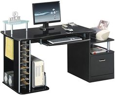 Piranha PC14g Large COMPUTER DESK with A4 Suspension File Drawer  £83.95    (£159.99 list price) from  http://www.homeofficefurnitureshop.co.uk/
