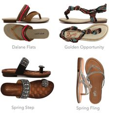 Spring Means Sandals!