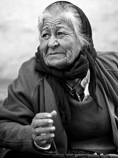 """So much has been said and sung of beautiful young girls, why doesn't somebody wake up to the beauty of old women."" ~Harriet Beecher Stowe"