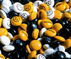 Steelers M&M's. These would be terrific for my sister MaryAnne.