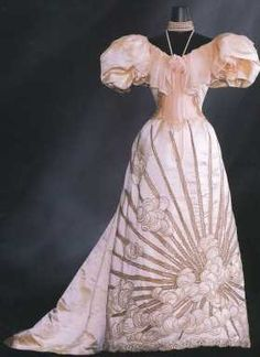 1894 Worth Evening Dress