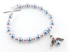 Infant Child Loss Angel Memorial Personalized Bracelet