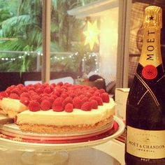 Raspberry cheesecake for Christmas desert! - @tuulavintage- #webstagram