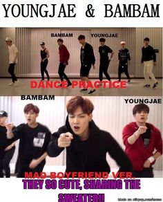 Youngjae wearing the same tshirt inside tho Got7 Jackson, Jackson Wang, Kim Yugyeom, Youngjae, Vixx, Got7 Funny, I Got 7, Got7 Members, Meme Center