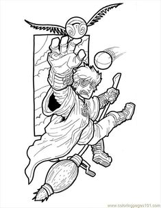 Download Or Print This Amazing Coloring Page Pages Harry Potter Small Cartoons