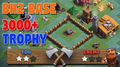 Builder Hall 2 (BH2) Trophy Base With Replay Proof 2017. Clash Of Clans Versus Battle Update 2017 with Builder Base. New BH2 Base for Trophy Pushing. Builder Hall Tournament & Versus Battle Clash Of Clans.  http://ift.tt/2lHtOjK    N:B: CLICK THE BELL ICON (  ) SO THAT YOU WILL GET ALL UPDATE NOTIFICATIONS!  Welcome to another brand new Clash Of Clans Versus Battle 2017 Update episode. In this video we are going to talk about Builder Hall 2 Trophy Base for Versus Battle Builder Hall Level 2…