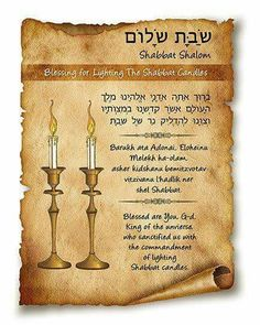 picture about Shabbat Blessings Printable identify 14 Great shabbat candles visuals inside of 2018 Shabbat candles