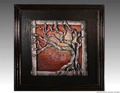 Wall+Sculpture+Art   Art clay sculpture–clay wall sculptures, reliefs, ceramic sculptures ...