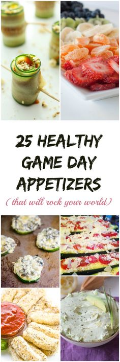 If you're looking to lose weight and stay fit this year, these healthy Game Day appetizers are exactly what you need in your life!