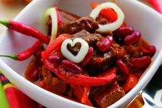 Pikantní hovězí maso / Spicy beaf meat