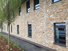 STONEPANEL™, the solution to get BREEAM Excelent rating in Biddulph health care centre | #STONEPANEL #stone #facade #TaylorMaxwell #architecture #design #UK #BiddulphPrimaryCareCentre