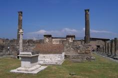 Inside the precinct of the Temple of Apollo. CHECK.
