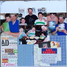 step-by-step scrapbook layout tutorial - making envelopes from vellum live. love. scrap.