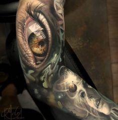Quantum Sight Sleeve Tattoo