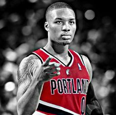 Portland Trailblazers #0 Damian Lillard -- Point Guard
