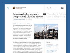 News Article by George Kvasnikov