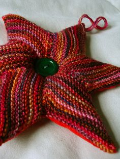 star pattern. Free on ravelry