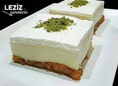 Turkish Sweets, Sprinkles Recipe, Gula, Recipe Scrapbook, Fish And Meat, Small Cake, Great Desserts, Turkish Recipes, Food And Drink