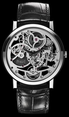 Piaget Altiplano Skeleton Ultra Thin Automatic Watch
