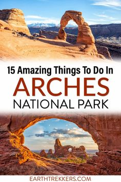 Best hikes, best views, and the best things to do in this Arches National Park Travel Guide. #hiking #nationalpark #archesnationalpark