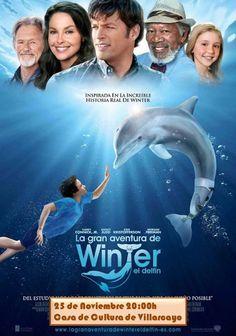 """25/11 Villarcayo Cine Infantil """"La gran aventura de Winter el delfín"""" #Merindades"""