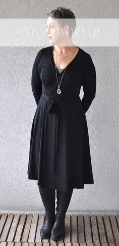 New Onion Pattern #2057, wrapped dress. #onion2057 #onion #wrappeddress #smila #smilasworld
