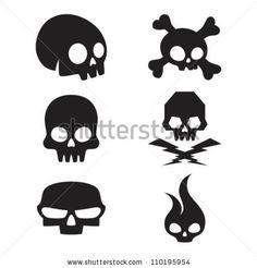 vector skulls - Google Search