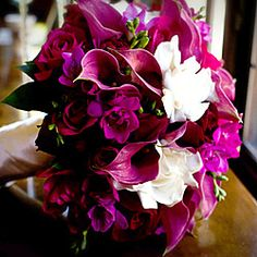 purple+calla+lilies+wedding+flowers | Southerncalweddings.com - Beach, Cliff & Ocean View Wedding Packages