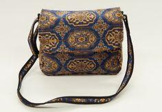 Carpet Bags Celia Shoulder Bag Blue Chiraz Carpet Bag, Blue Bags, Messenger Bag, Satchel, Range, Shoulder Bag, Vintage, Cookers, Stove