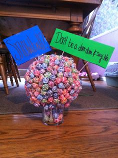 This is a cute way to ask someone to a dance!! This is how I did it an he said yes!!