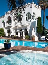 hôtel la villa mauresque à saint-raphaël, côte d'azur