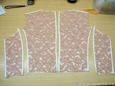 Клуб любителей шитья Сезон - сайт, где Вы можете узнать все о шитье - Обработка срезов деталей методом гон-конг
