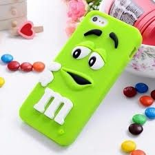 For iPhone 6 iPhone 6 Plus Case Cute M&M's Rubber Silicone Cartoon Mobile Phone Cases Cover for iphone 7 7 plus M-Bean Iphone 5s, Iphone 6 S Plus, Apple Iphone 5, Silicone Iphone Cases, Iphone Cases Cute, Cute Cases, Iphone 6 Cases, 5s Cases, Phone Covers